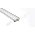 LED Alu Profile MICRO-K anodized