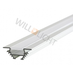 LED Alu Profil PAC anodized
