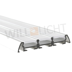 LED Alu Profil TRIADA anodized