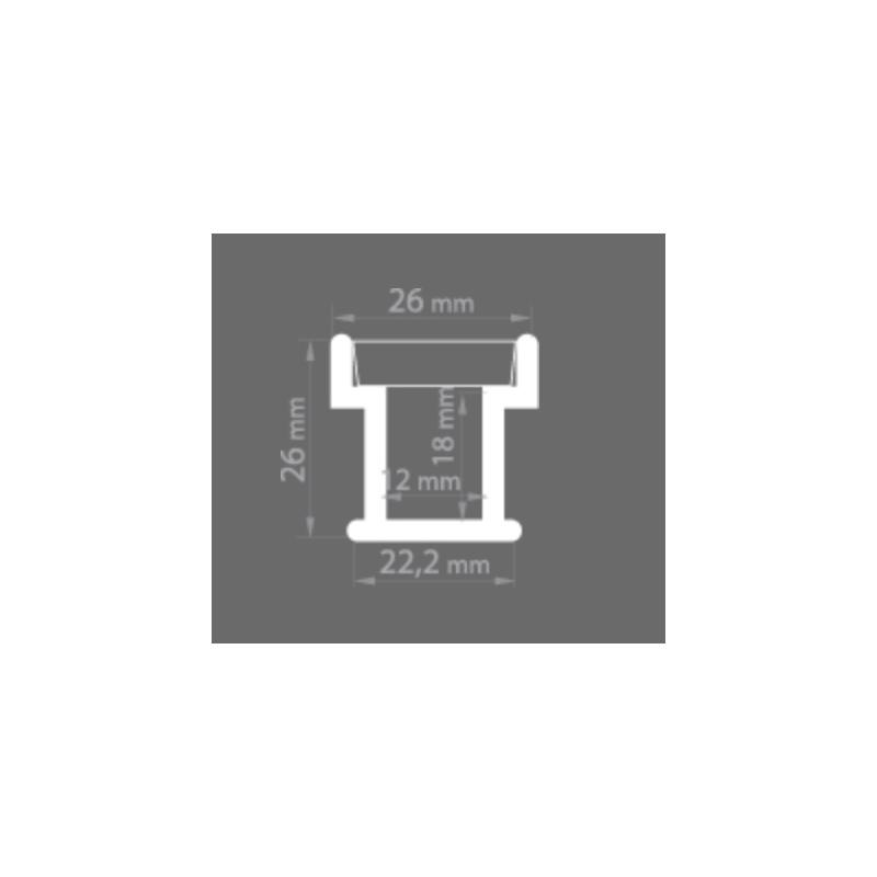 led alu profil hr line. Black Bedroom Furniture Sets. Home Design Ideas