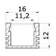 LED Alu-Profil PDS 4
