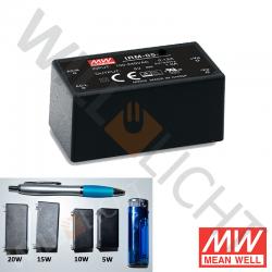 MW LED-Netzteil, 5W, 24V/0,23A [IRM-05-24]
