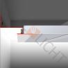 DSL LED-Trockenbauprofil für freie (schwebende) Flächen mit Unterkonstruktion