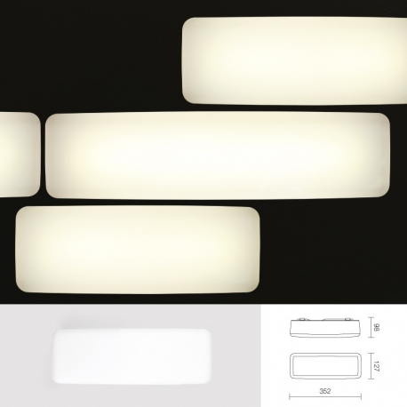 led lampe mywhite b1 wei 3000k will licht planung led. Black Bedroom Furniture Sets. Home Design Ideas