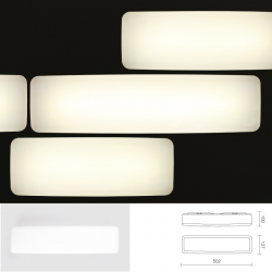LED-Lampe MyWhite(B2), weiß / 3000K