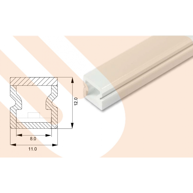 led kunststoffprofil line12 will licht planung led. Black Bedroom Furniture Sets. Home Design Ideas