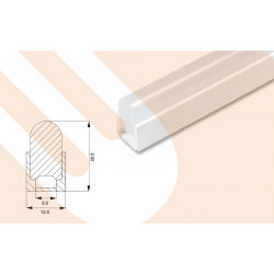 LED-Kunststoffprofil Line12