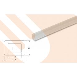 LED-Kunststoffprofil TOPLinePMMA 5