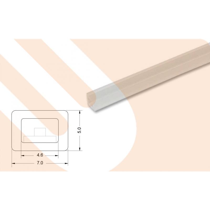 led kunststoffprofil toplinepmma 5 will licht planung led. Black Bedroom Furniture Sets. Home Design Ideas
