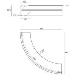 LED EPS Profil Curve Kreis-Modul R500