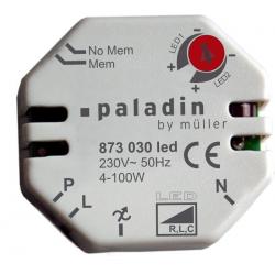 LED Universaldimmer Unterputz (UP 12-48V / max. 6A
