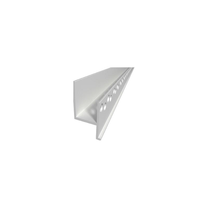 adp ku 09 aufdoppelungsprofil aus kunststoff f r fl chenb ndige sockelleisten will licht. Black Bedroom Furniture Sets. Home Design Ideas