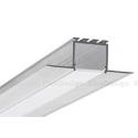 L 24 Lineares Alu-Profil zum verdeckten Einbau in Wand- und Deckenflächen