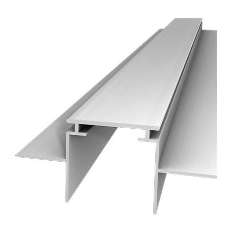 M 28 Lineares Alu-Profil zum Bau schmaler Lichtschlitze in Gipskartonwände