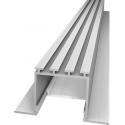 S 24 Lineares Alu-Profil zum Bau schmaler Lichtschlitze in Gipskartonwände