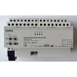 GIRA Universal-Dimmaktor 4fach 4x210W KNX/EIB REG 1043 00 / 104300