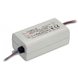 MW LED-Schalt-Netzteil 16W/350mA