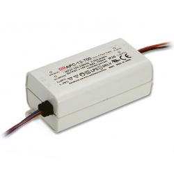 MW LED-Schalt-Netzteil 12W/350mA