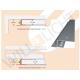 ADP LED-Trockenbauprofil ohne Sichtschenkel für freie Flächen-/Lichtbandgestaltung