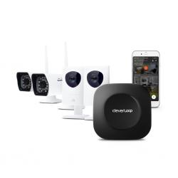 CleverLoop Videoüberwachung mit 4 Kameras