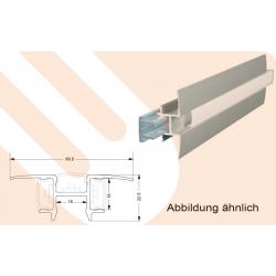 Abdeckung STARline Alu 23 / Aluminiumoptik