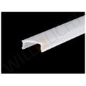Kunststoffabdeckung aus Polycarbonat, opalweiß, 12,5 mm,