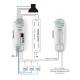 Funk- und Kabelsteuereinheit für RGB LEDs TOP-A0509/RGB