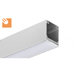 LED Alu Profile INTER kpl. anodized