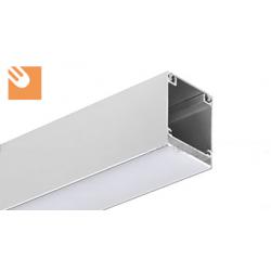LED Alu-Profil INTER kpl. eloxiert