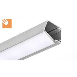 LED Alu-Profil IMET kpl. eloxiert
