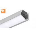 LED Alu Profile IMET kpl. anodized