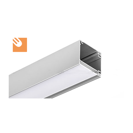 Led Alu Profile Ikon Kpl Anodized