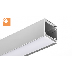 LED Alu Profile IDOL kpl. anodized