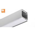 LED Alu-Lichtprofil IDOL kpl. eloxiert