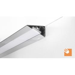 LED Alu-Profil LOC 30 kpl. eloxiert