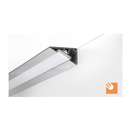 Led Alu Profile Loc Kpl Anodized
