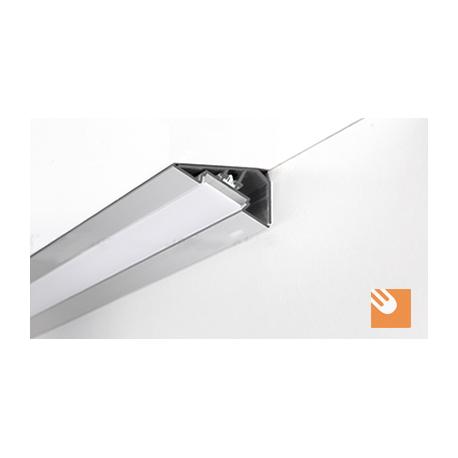 LED Alu-Profil LOC kpl. eloxiert