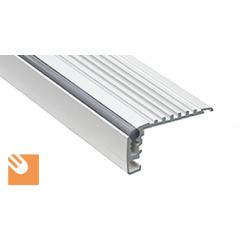 LED Alu-Profil STEKO mit AR-Streifen eloxiert