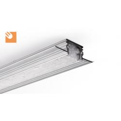 LED Alu-Profil TE-4 kpl. nicht eloxiert