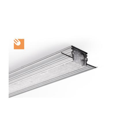 LED Alu Profile TE-4 kpl. not anodized