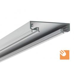 LED Alu-Profil TESPO kpl. eloxiert