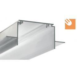 LED Alu-Montage-Trockenbauprofil TESE kpl. nicht eloxiert