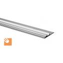 LED Alu-Profil NISA-PLA kpl. nicht eloxiert
