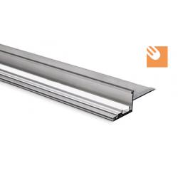 LED Alu-Profil NISA-NI kpl. nicht eloxiert