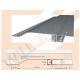 R10F LED-Trockenbauprofil mit Reflektor-Sichtschenkel für Einbau in die Fläche