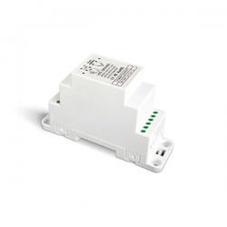 LED-Dimmer 0-10 V/PUSH DIN-Schiene 1x12 A - DIN-711-12A