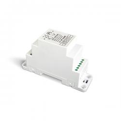 LED-Dimmer 0-10 V/PUSH DIN-Schiene 1x12 A - DIN-711-12A